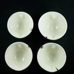 Heart shaped Tea cups (4 individually designed)