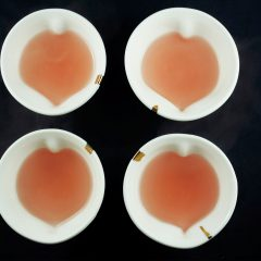 Heart shaped Tea cups (4 individually designed)