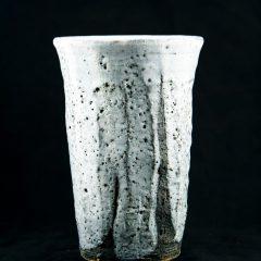 Shino Glazed Japanese Beer Mug