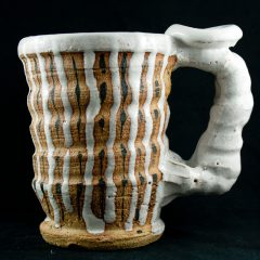 Beer mug: Shino Glazed