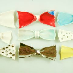 Ceramic Bows/ Wearable