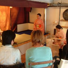 A collaboration show with Tea Ceremony